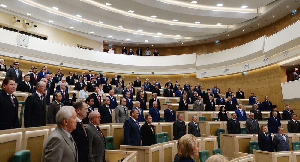 Conseil de la Fédération de Russie