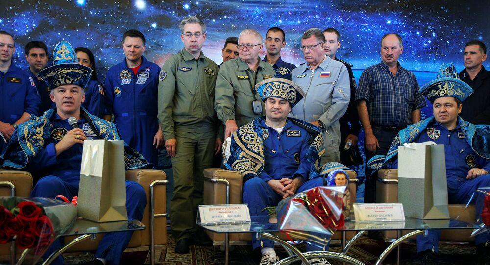 L'équipage de l'ISS atterrit au Kazakhstan
