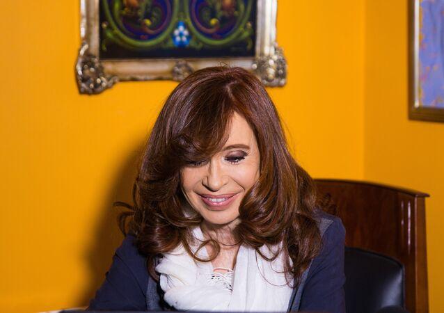 L'ex-présidente de l'Argentine Cristina Fernandez de Kirchner