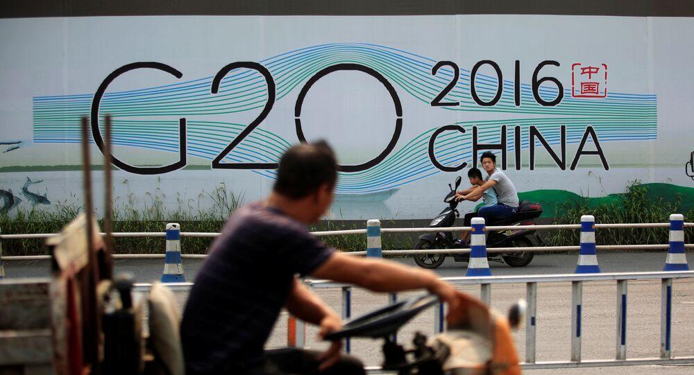 Le sommet du G20 en Chine