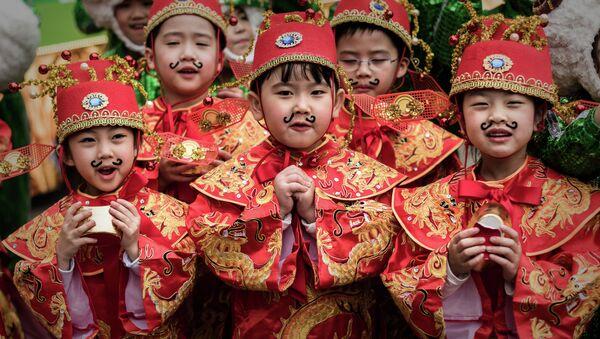 Des enfants chinois - Sputnik France