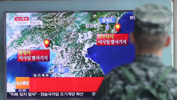 L'essai nucléaire nord-coréen - Sputnik France