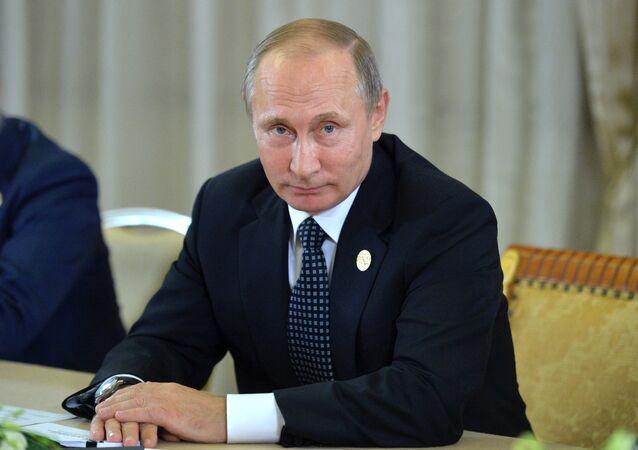 Vladimir Poutine au G20 en Chine