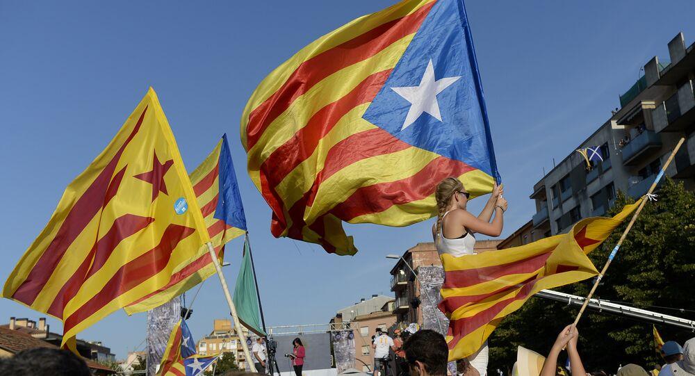 million de Catalans ont pris part à des manifestations
