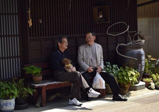 Des personnes agées au Japon