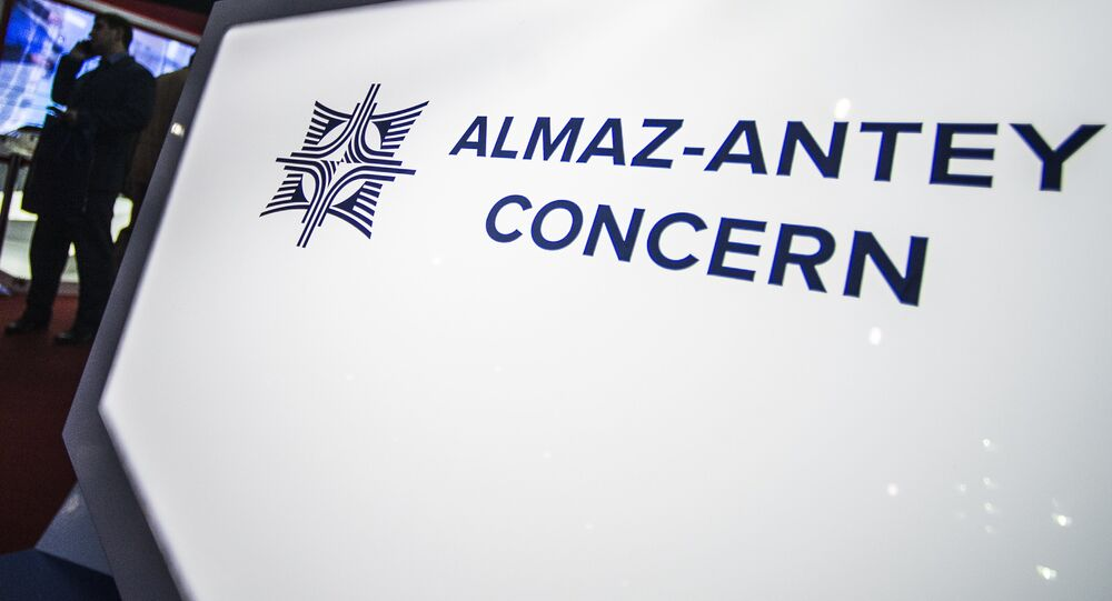 Stand d'Almaz-Anteï à Dubaï