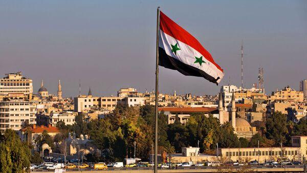Le drapeau de Syrie - Sputnik France