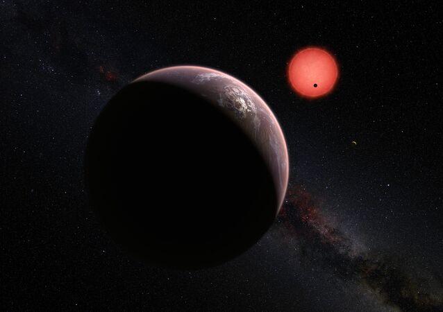 Découverte de trois planètes qui pourraient abriter la Vie!