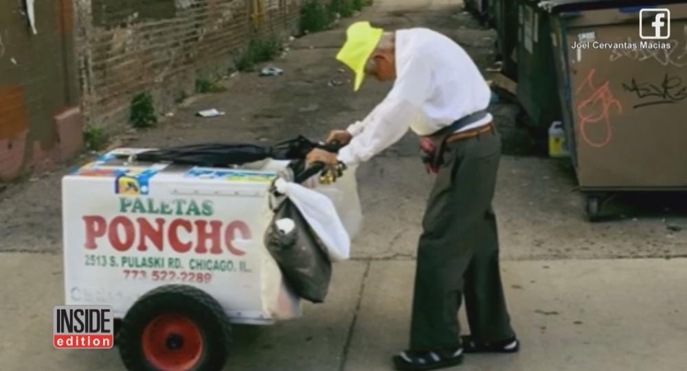 Un vieil homme de 89 ans prend sa retraite grâce aux réseaux sociaux