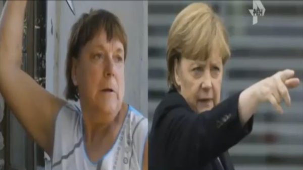 Quand « Merkel » sort son couteau… - Sputnik France