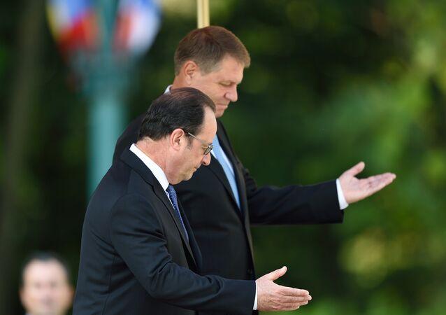 Hollande et Iohannis