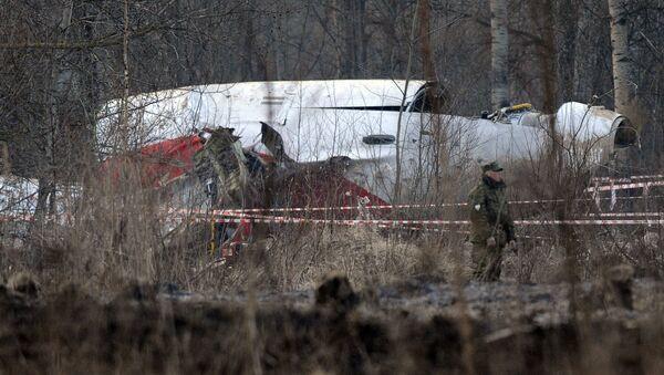 Les débris du Tu-154 du Président polonais Lech Kaczynski, qui s'est écrasé non loin de Smolensk en avril 2010 - Sputnik France