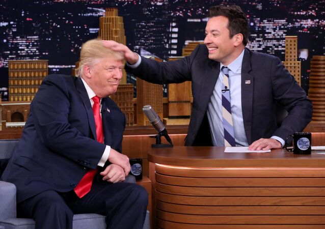 Donald Trump et Jimmy Fallon