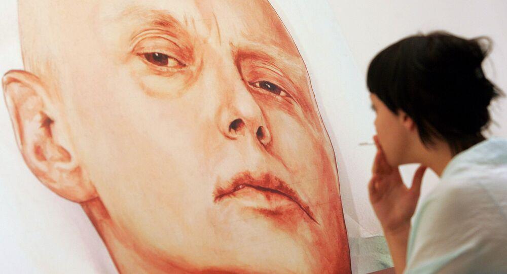Portrait de l'ancien KGBiste Alexander Litvinenko