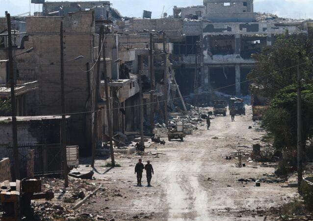 Les quartiers nord-est d'Alep nettoyés par l'armée syrienne