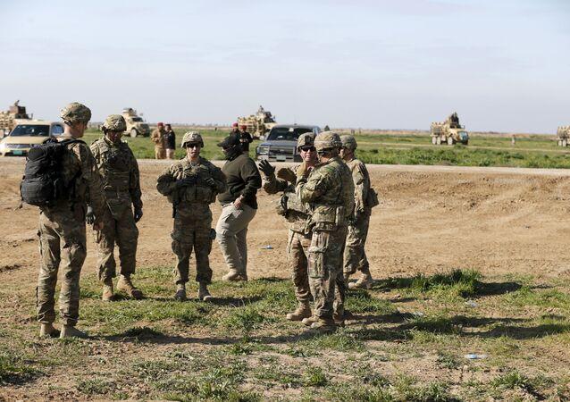Des militaires US en Irak. Archive photo