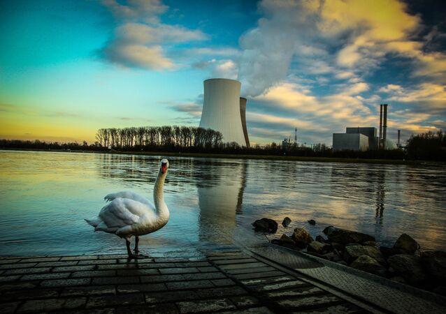 Centrale nucléaire, image d'illustration