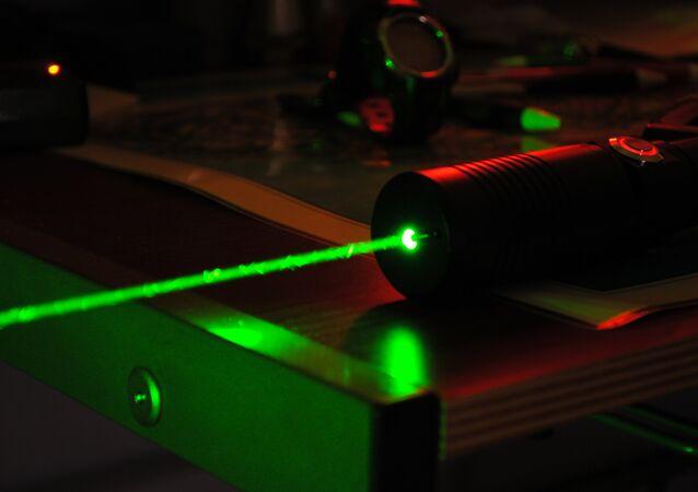 Un laser de haute puissance