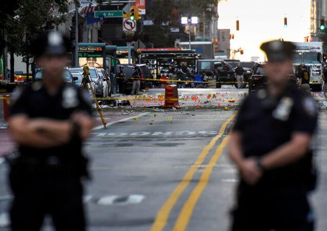 Policiers à New-York