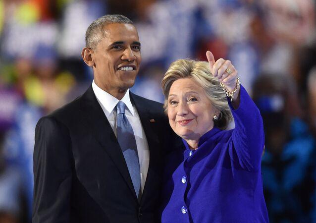 Obama et Clinton