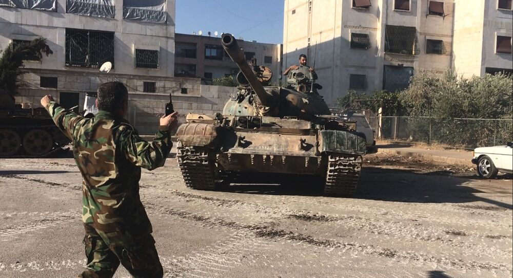 Armée syrienne à Alep. Archive photo