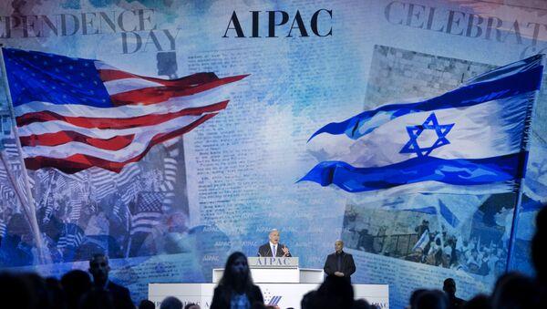 Le Comité américano-israélien aux Affaires publiques (AIPAC) - Sputnik France