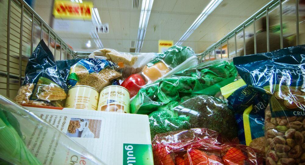 Supermarché. Image d'illustration