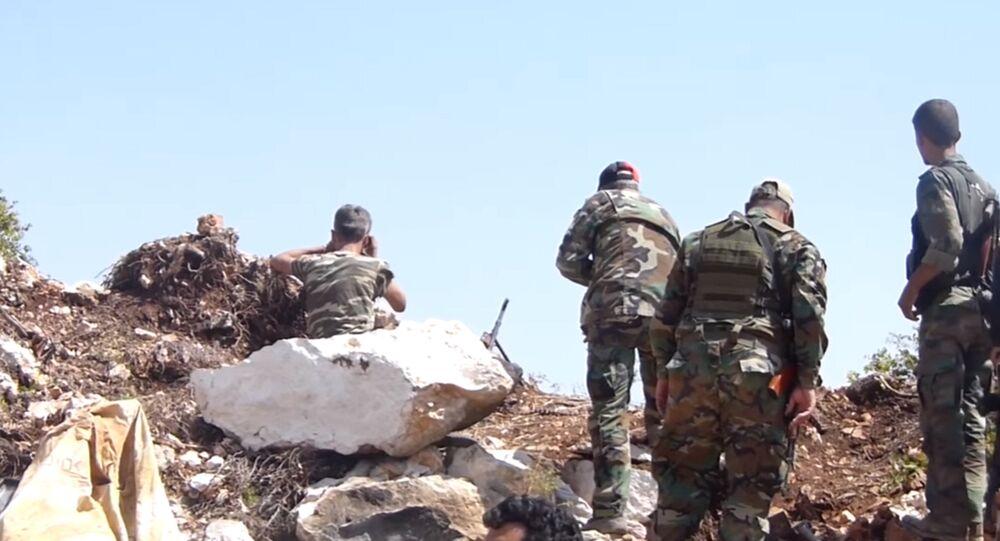 Les provocations des terroristes contre l'armée syrienne (vidéo)