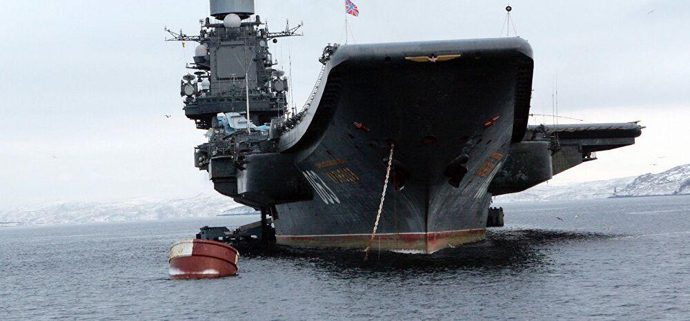 La Russie déploiera son groupe de porte-avions en Méditerranée