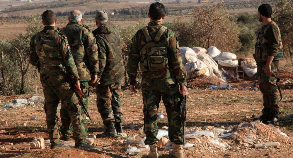 Soldats syriens, image d'illustration