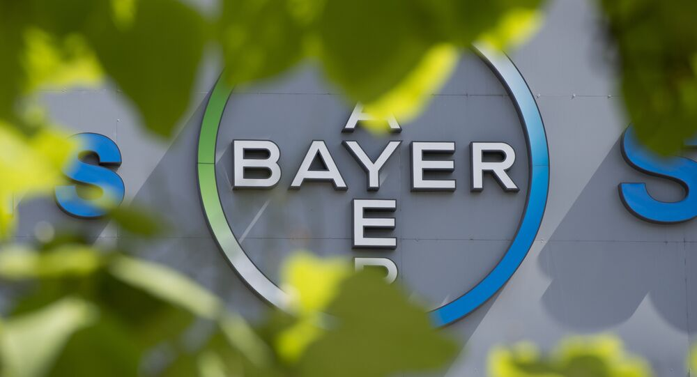 Logo de l'allemand Bayer