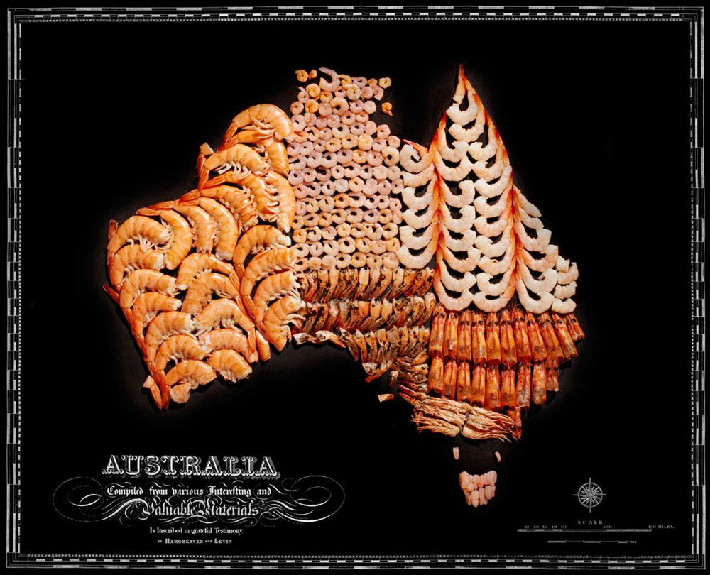 Culinary Cartography: Munchable Maps for Geography Gourmets