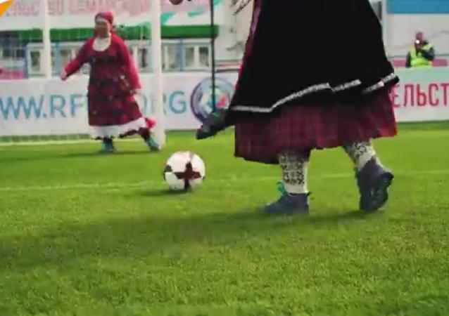 Des babouchkas lancent le tube de la Coupe du monde 2018