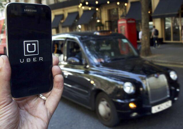 Le logo d'Uber