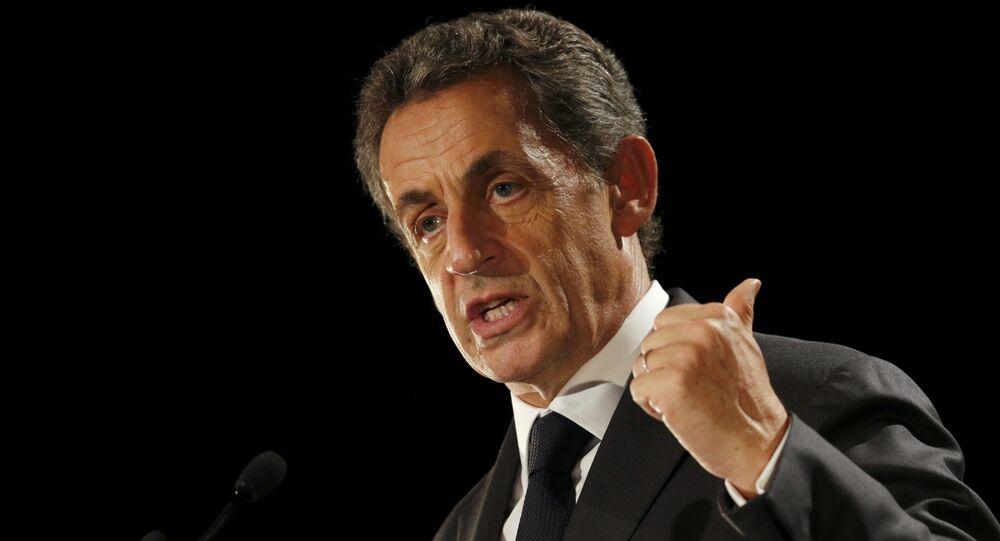 L'ex-président français Nicolas Sarkozy (photo d'archives)