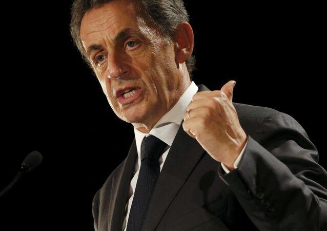 L'ex-président français Nicolas Sarkozy