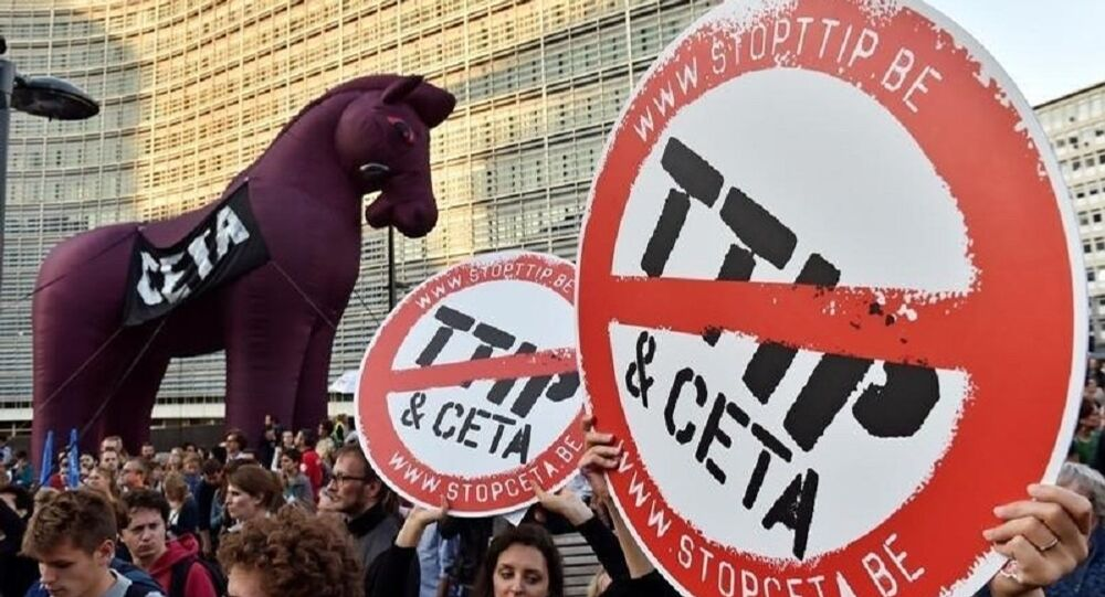 La Wallonie met son veto à la signature par la Belgique de l'accord de libre échange Ceta