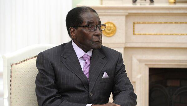 Le président du Zimbabwe Robert Mugabe - Sputnik France