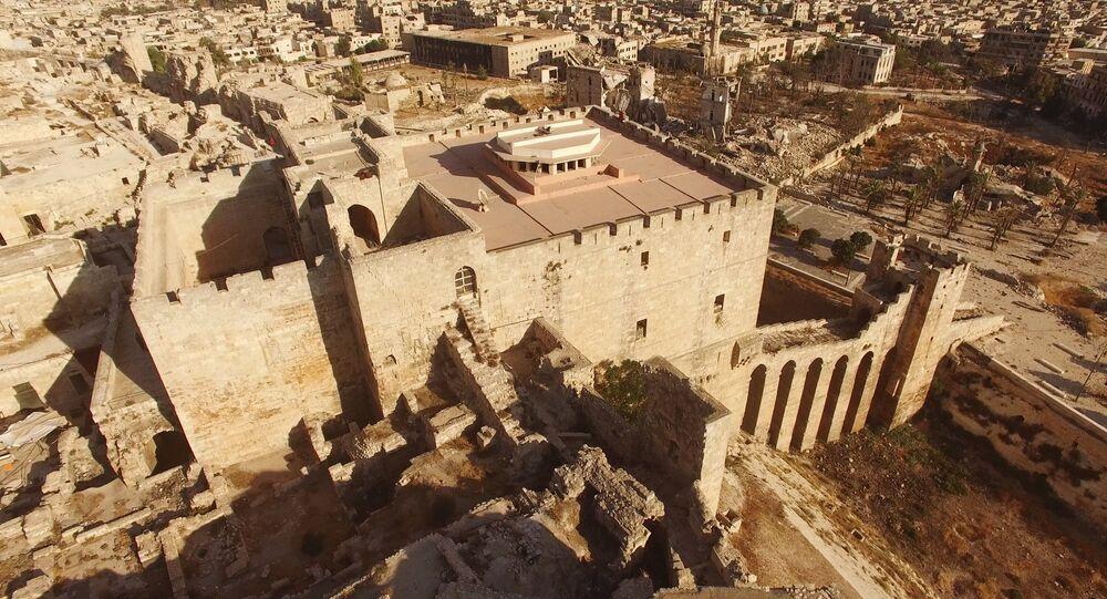 Les quartiers est d'Alep contrôlés par les terroristes