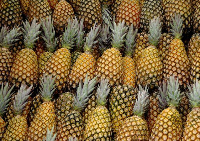 Des ananas
