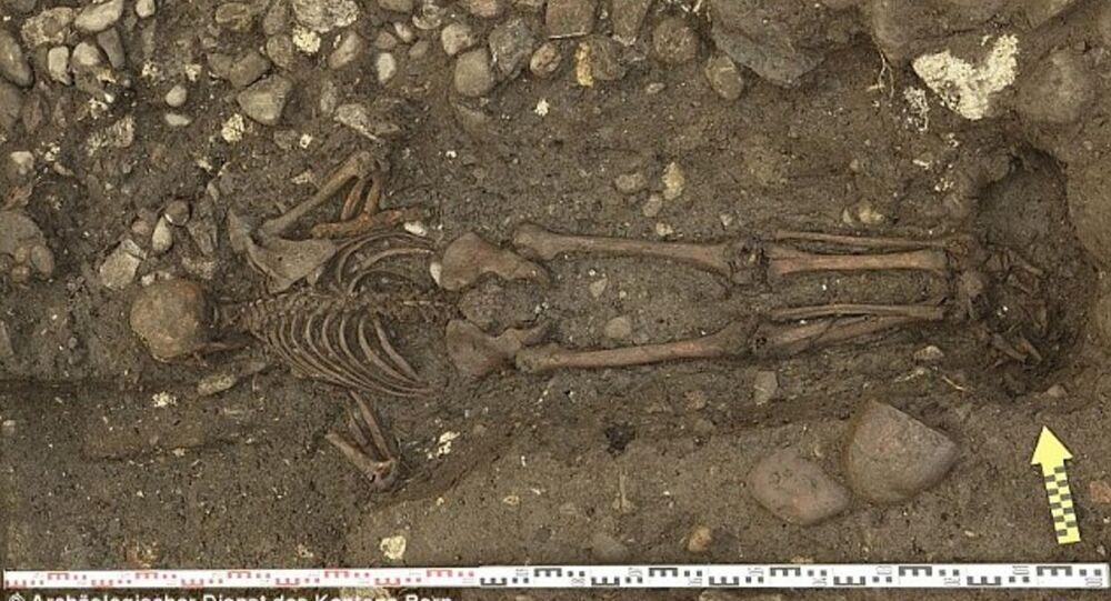 Découverte d'une tombe d'un homme mystérieux en Suisse