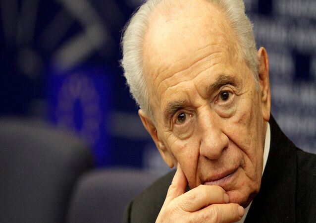 Israels Ex-Präsident Shimon Peres