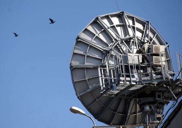 Un radar. Image d'illustration