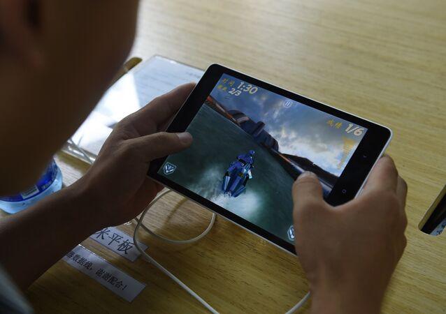 Une tablette Samsung. Image d'illustration