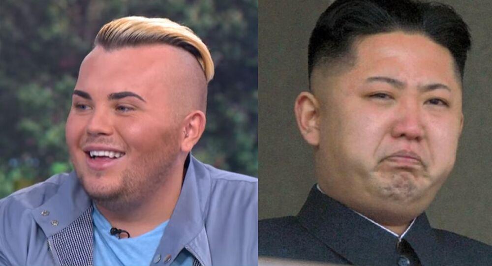 Kim Jong-un et Jack Johnson