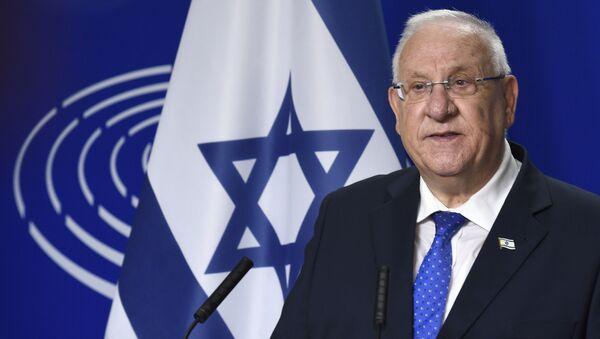 Israeli President Reuven Rivlin - Sputnik France