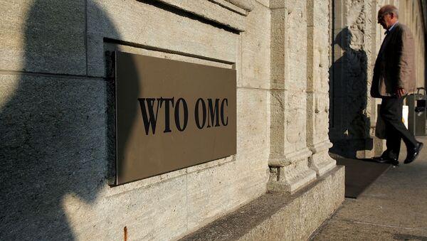 L'OMC - Sputnik France