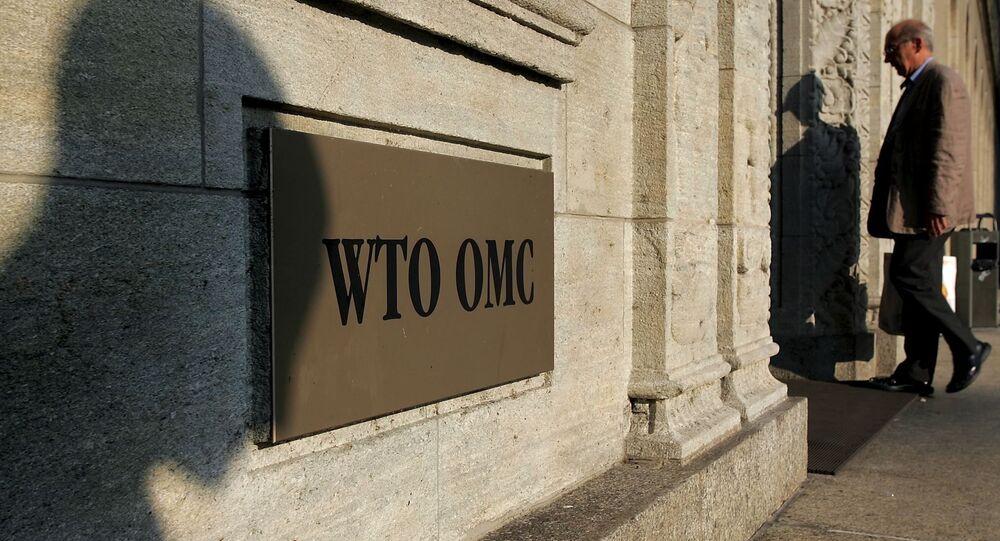 Le siège de l'OMC