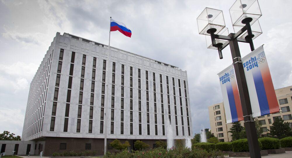 L'ambassade russe réagit à l'interdiction de la publicité des médias russes sur Twitter