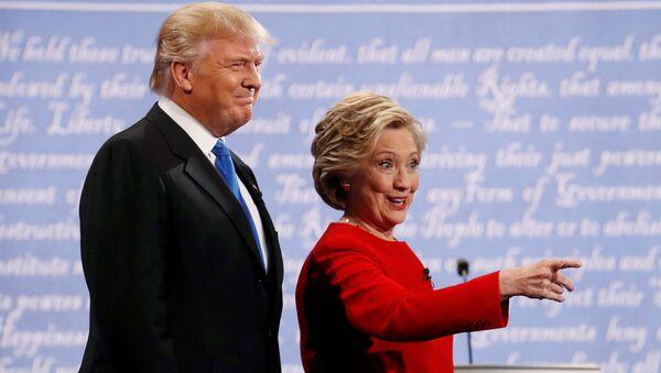Donald Trump et Hillary Clinton - Sputnik France